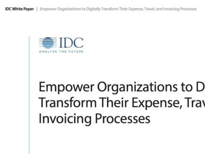 IDC SAP Concur travel and expense management