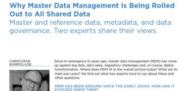 Why Master Data Management is being rolled out to all shared data